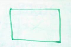 Pudełkowaty kontur na whiteboard Obraz Stock
