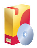 pudełkowaty oprogramowanie Zdjęcie Royalty Free