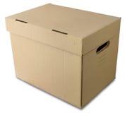 pudełkowaty pasteboard Obraz Royalty Free