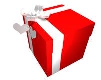 pudełkowaty prezent Obrazy Royalty Free