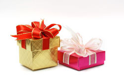 pudełkowaty prezent obraz stock