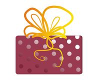 pudełkowaty prezent Obraz Royalty Free