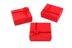pudełkowaty prezent trzy Zdjęcie Royalty Free