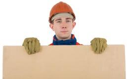 pudełkowaty robotnik Obraz Stock