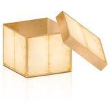 pudełkowaty stary otwiera Obrazy Royalty Free