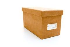 pudełkowaty zamszowy Obraz Stock