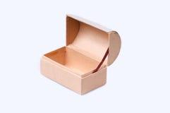 pudełko bagażnik pusty odosobniony Zdjęcie Stock