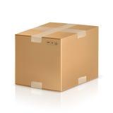 pudełkowaty karton Obrazy Stock