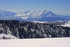 Puder-Berg, Utah Lizenzfreies Stockfoto