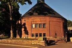 Puder-Haus Lizenzfreies Stockbild