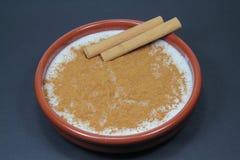 Pudim de arroz Fotografia de Stock Royalty Free