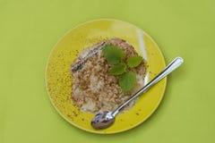 Pudim de arroz Fotos de Stock Royalty Free