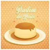 Pudim De Leite obraz royalty free