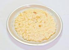 Pudim- indiano Kheer do arroz Imagens de Stock