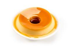Pudim, sobremesa deliciosa foto de stock royalty free