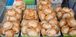 Pudim tailandês do coco Fotografia de Stock