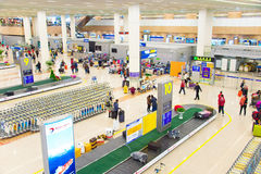 Free Pudong Airport Baggage Claim Hall Royalty Free Stock Image - 91723246
