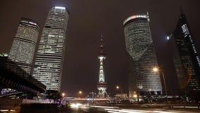 Pudong bij Nacht