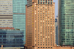 Pudong district skyscrapers in Shanghai, China Stock Images