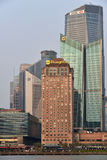 Pudong district skyscrapers Stock Photo