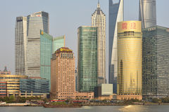 Pudong district view Stock Photo
