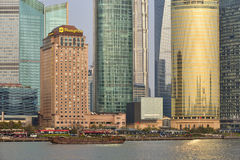 Pudong district view Royalty Free Stock Photography