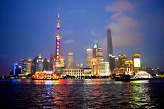 Pudong, Schang-Hai Fotografia Stock