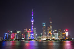 Pudong shanghai Royaltyfri Fotografi