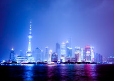 Pudong  Shanghai in China Royalty Free Stock Photography