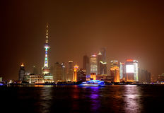 Pudong  Shanghai in China Stock Image