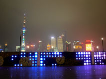 Pudong Shanghai Royalty Free Stock Photo