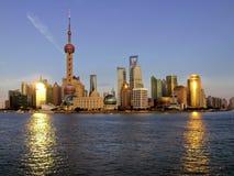 Pudong skyline Royalty Free Stock Photos