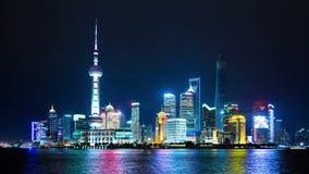 Pudong Skyline of Shanghai, China.