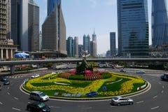 Pudong  Traffic Circle Royalty Free Stock Image