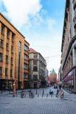 Pudra tornet i den gamla staden av Riga Fotografering för Bildbyråer