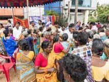 Politic manifestation india government stock photos