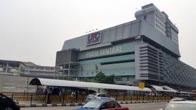 Puduraya bussstation Kuala Lumpur Malaysia Royaltyfri Fotografi