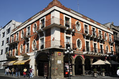 Puebla céntrica Foto de archivo