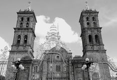 Puebla cathedral I Royalty Free Stock Photography