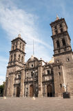 Puebla cathedral, Mexico Royalty Free Stock Image