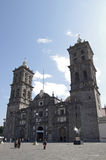Puebla Cathedral Royalty Free Stock Image