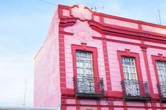 Puebla, Mexico. Historic Puebla is Mexico`s fourth larges city and has a historical charm Stock Image