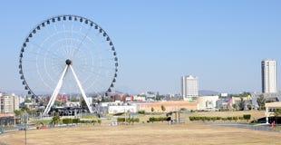 Puebla Mexico. Image of the Star of Puebla Ferris Wheel at Puebla Mexico Royalty Free Stock Images