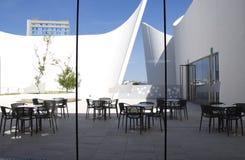 Puebla, Mexiko 6. November 2016: Äußeres des Puebla-Barock-Museums lizenzfreies stockbild