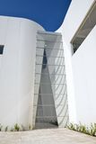 Puebla, Mexiko 6. November 2016: Äußeres des Puebla-Barock-Museums stockbild