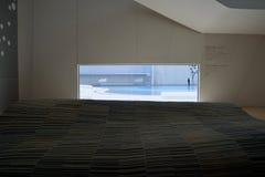 Puebla, Mexiko 6. November 2016: Innenraum des Puebla-Barock-Museums lizenzfreies stockfoto