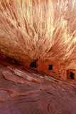 Pueble Home Ruins of The Anasazi  People Stock Images