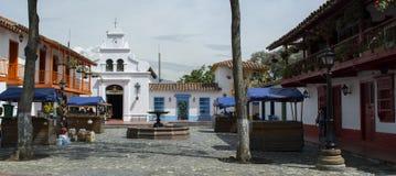 Pueblito Paisa, Medellin, Colômbia foto de stock royalty free