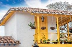 Pueblito Paisa in Nutibara-Hügel, Medellin-Stadt in Kolumbien Stockbild