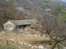 Pueblo abandonado Fotografía de archivo